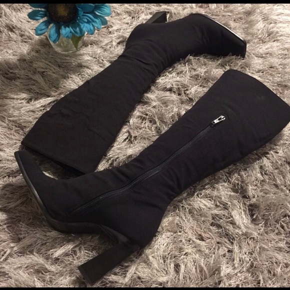 Prada Woven Knee-High Boots low shipping fee cheap price huge surprise for sale for sale free shipping buy cheap 2015 new discount sale online 9CuiYtaKU